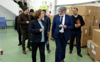 Visite d'une délégation d'hommes d'affaires palestiniens à Plastiform